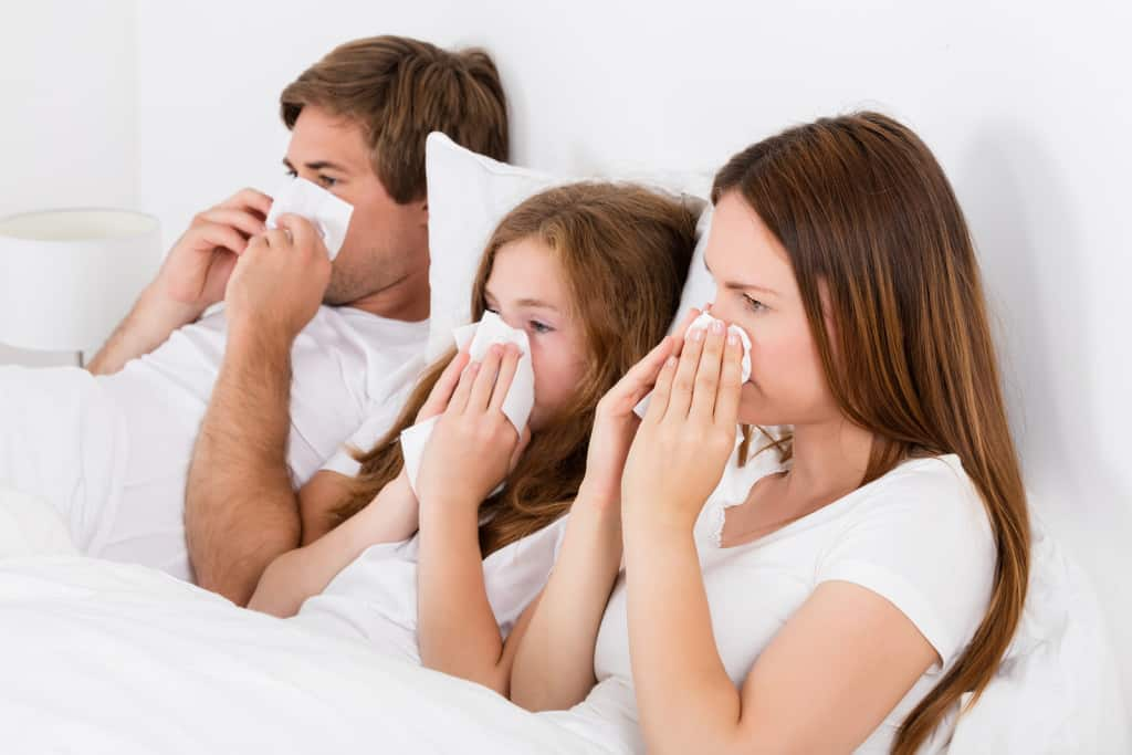 school making family sick